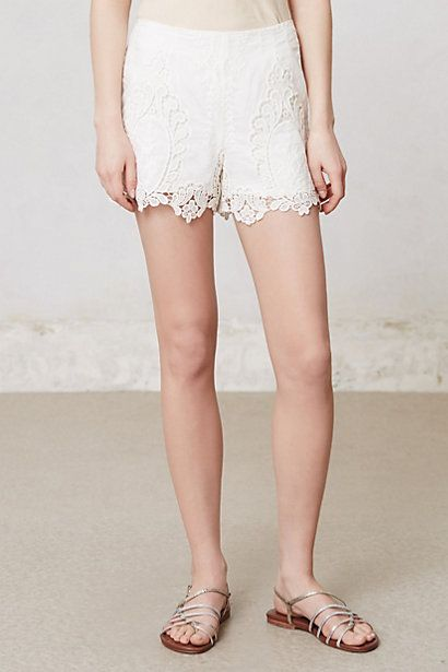 Calvi Lacework Shorts Anthropologie July 2013 Personal Stylist Picks