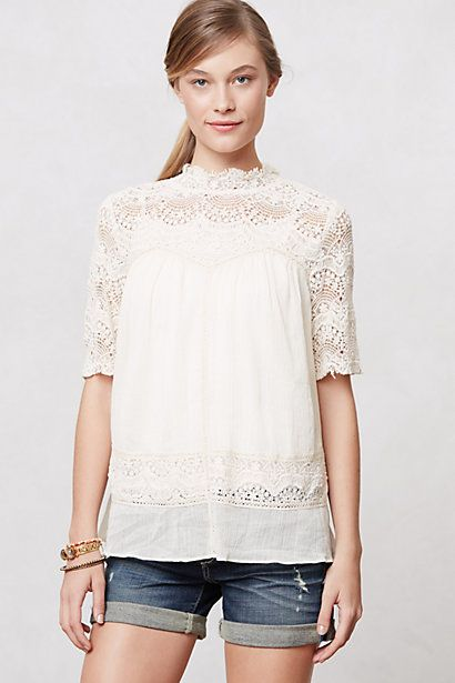 Cassis Peasant Top Anthropologie July 2013 Stylists Top Picks Washington Dc personal Fashion Image COnsultant