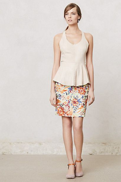 Dayflora Stitched Skirt Anthropologie july 2013 stylist top picks personal Washington dc