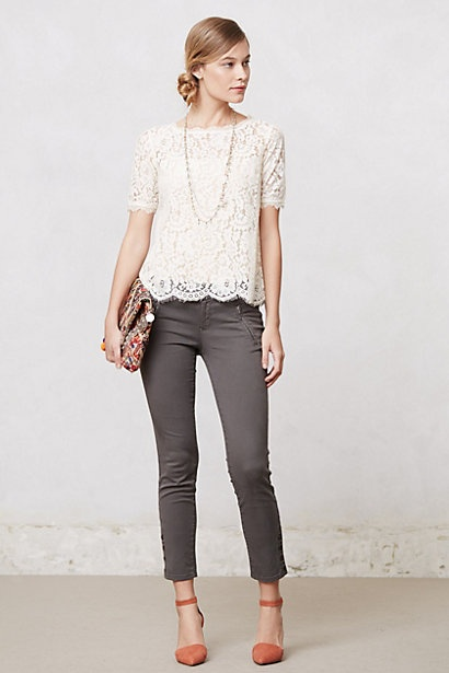 Elysian Lace Top anthropologie July 2013 Stylist Personal