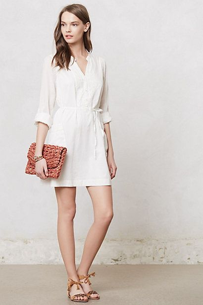 Embroidered Verity Tunic July 2013 Shirtdress Anthropologie Stylist Fashion Picks Personal Washington DC