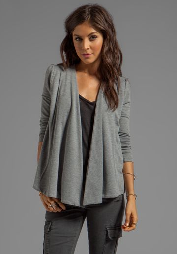 BB DAKOTA Elle Heather French Terry Wrap Revolve Clothing Stylists Picks