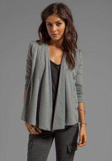BB DAKOTA Elle Heather French Terry Wrap Revolve Clothing Stylists Picks
