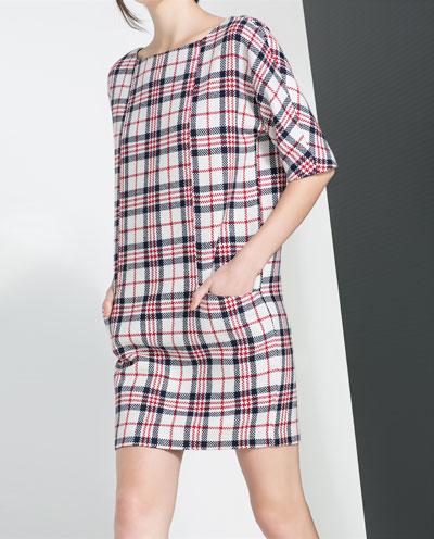 Zara Checked Dress Stylist's pick