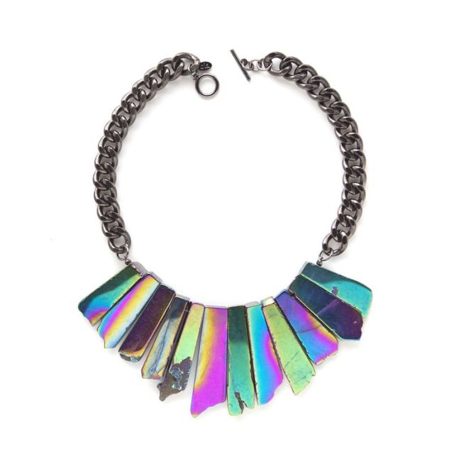 THE STARDUST NECKLACE - GALACTIC oia jules