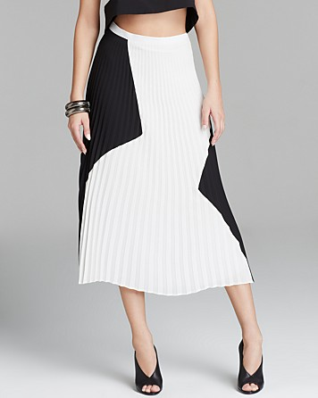 Charles Henry Skirt - Pleated Midi